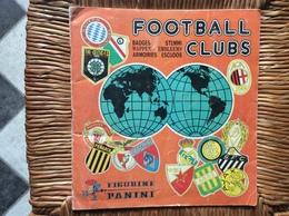 ALBUM PANINI FOOTBALL CLUBS  Badges Armoiries  ANNEE 1975 - Panini