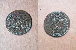 1586-1635 - Jeton Hans KRAUWINCKEL - FDC - Jeton De Comptage NUREMBERG ( Fleur De Coin ) 16e / 17e Siècle . - Monetari/ Di Necessità