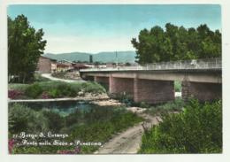 BORGO SAN LORENZO - PONTE SULLA SIEVE E  PANORAMA  VIAGGIATA FG - Firenze (Florence)