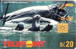 PERU - Otter(blank Reverse), Used - Peru