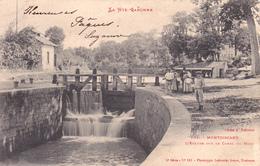 CPA (31) MONTGISCARD L' Ecluse Et Le Canal Du Midi  (2 Scans) - France