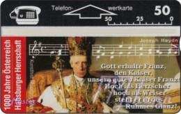 """TWK Österreich Privat: """"1000 J. Österreich - Habsburger Herrschaft"""" Gebr. - Autriche"""