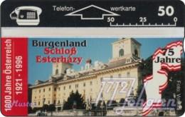 """TWK Österreich Privat: """"1000 J. Österreich - Burgenland"""" Gebr. - Autriche"""