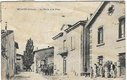 BESAYES. LA MAIRIE ET LA POSTE - France