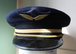 Uniforme Veste Casquette Calot Aviateur Aviation Sous Officier Armée De L'air - Uniformes