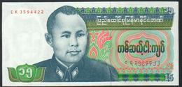 Burma 15 Kyat 1986 UNC - Myanmar