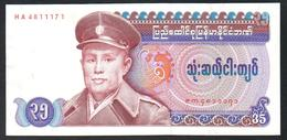 Burma 35 Kyat 1986 AUNC - Myanmar