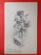 1907 - Illustrateur M.M. VIENNE Nr 288 - CUPIDO - CADEAUX - COCHON - GESCHENKEN - VARKEN - ANGE - ENGEL - Vienne