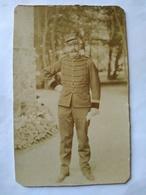 Photographie Ancienne Format Cabinet - CAPITAINE- Peut-être Médecin Voir Col - BE - Guerre, Militaire