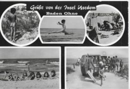 AK 0270  Insel Usedom - Baden Ohne / Ostalgie , DDR Um 1986 - Usedom