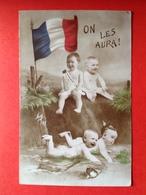 WO 1914 - 1918 - OORLOG - GUERRE - ON LES AURA - FRANCE - BEBES - Humor