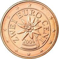 Autriche, 2 Euro Cent, 2006, SUP, Copper Plated Steel, KM:3083 - Autriche