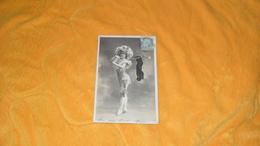 CARTE POSTALE ANCIENNE CIRCULEE DE 1905../ MAM'ZELLE MICHEL WALERY PARIS...CACHETS + TIMBRE - Women
