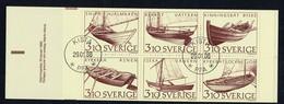 Sverige 1988  Yv  C1449 Boekje/carnet 1449 Used / Obl / Gebr. - Carnets
