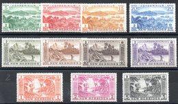 NOUVELLES HEBRIDES - YT N° 186 à 196 - Neufs ** - MNH - Cote: 69,00 € - English Legend