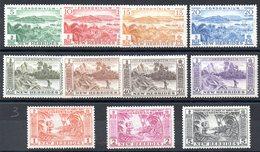 NOUVELLES HEBRIDES - YT N° 186 à 196 - Neufs ** - MNH - Cote: 69,00 € - Légende Anglaise