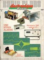 Radio Plans électronique Loisirs N°411 Une Hyper Alarme - Récepteur VHF Spécial 27 - Les Générateurs De Fonctions 1982 - Basteln