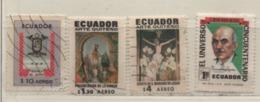 Ecuador 1971 MiNr.: 1501; 1523; 1528; 1536 Gestempelt; Used Scott: C469; C473, C478, 841 - Equateur