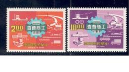 TAIWAN1977:Michel 1176-7 Mnh** - 1945-... Republik China