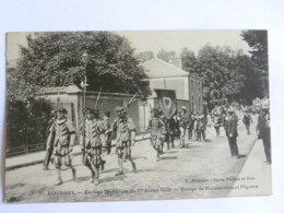 CPA (18) Cher - BOURGES - Cortège Historique Du 1er Juillet 1923 - Groupe De Hallebardiers Et Piquiers - Bourges