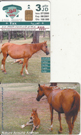 JORDAN - Horse, Nature Around Amman(glossy Surface), Black CN At Top, 07/00, Mint - Jordanie