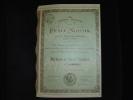 """Action """"Petit Niçois""""Journal Republicain Quotidien Publié à Nice 1911 Excellent état - Industrie"""