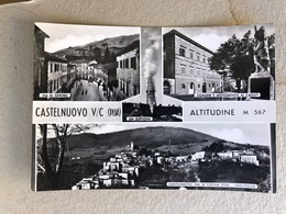 CASTELNUOVO VAL DI CECINA  VEDUTINE  1960 - Pisa