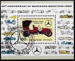 NORDKOREA 1986 - MiNr: 2744 Bl. 214 Mercedes Simplex 1904 - Autos