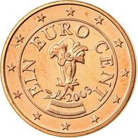 Autriche, Euro Cent, 2003, TTB, Copper Plated Steel, KM:3082 - Autriche
