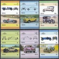 NEVIS 1986 - MiNr: 398-409 Komplett Feinst **/MNH - Autos