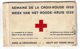 Afrique - Congo - Pawa -Ituri - Semaine De La Croix Rouge 1928 - Complet 6 Cartes - Voir Scans Et Descriptif - Red Cross - Croix-Rouge