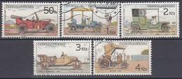 CSSR 1988 - MiNr: 2947-2951 Oldtimer Komplett Used - Autos