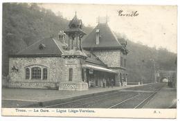 (G239) TROOZ - La Gare Sur La Ligne Liège-Verviers - Trooz