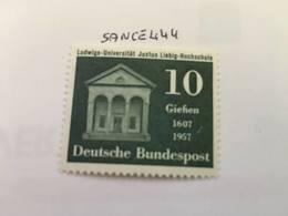 Germany J. Liebig University 1957 Mnh #ab - [7] Federal Republic
