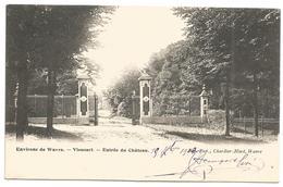 (G244) VIEUSART - Entrée Du Château - Chaumont-Gistoux