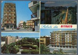 °°° Cartolina N. 52 Saluti Da Bbitonto Vedutine Viaggiata °°° - Bari