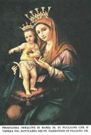 MARIA SS. DI PUGLIANO - Santuario Di Paliano (FR) - M -  PR - Mm. 65 X 95 - Religione & Esoterismo