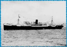 """CPSM Le Paquebot """"VILLE D'AMIENS"""" Compagnie Des Messageries Maritimes ** Bateau Ship - Paquebote"""