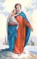 MADONNA DELLA NEVE - Santuario - Palestro (PV) - M -  PR -  Mm. 55 X 85 - Religione & Esoterismo