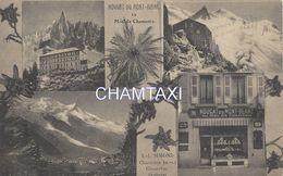 74  CHAMONIX MONT BLANC NOUGAT DU MONT BLANC LJ SIMOND CHOMERAC EDITEUR PAPETERIE UNIVERSELLE - Chamonix-Mont-Blanc