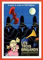 Carte Postale : Les Trois Brigands (film - Cinéma - Affiche) Illustration : Tomi Ungerer - Ungerer
