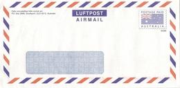 AUSTRALIA - PAP - Postage Paid - Australia Flag ~ Real Circulated ~ - Enveloppes