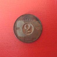 2 Öre Münze Aus Schweden Von 1956 (schön Bis Sehr Schön) - Schweden