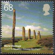 GREAT BRITAIN 2005 World Heritage Sites: 68p Heart Of Neolithic Orkney, Scotland - 1952-.... (Elizabeth II)