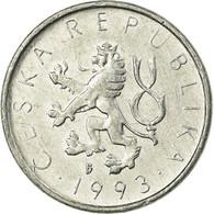 Monnaie, République Tchèque, 10 Haleru, 1993, TTB, Aluminium, KM:6 - Tchécoslovaquie