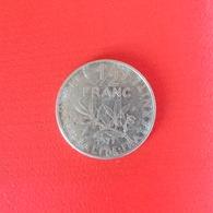 ½ Franc Münze Aus Frankreich Von 1977 (schön) - G. 50 Centimes