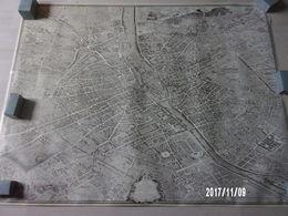 Plan De Paris à Vol D'oiseau Dit De Turgot 1739 - Cartes Topographiques