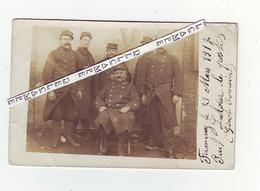 Militaires En 1917 à Firminy - Firminy