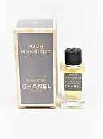 Miniatures De Parfum    Pour Monsieur  EDT Concentrée  4.5  Ml  De  CHANEL  + Boite - Miniaturen Flesjes Heer (met Doos)