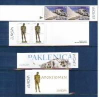 Kroatien / Croatia Jahr / Year 2012 Europa Cept MH / Booklet Postfrisch / Set Unmounted Mint - Europa-CEPT